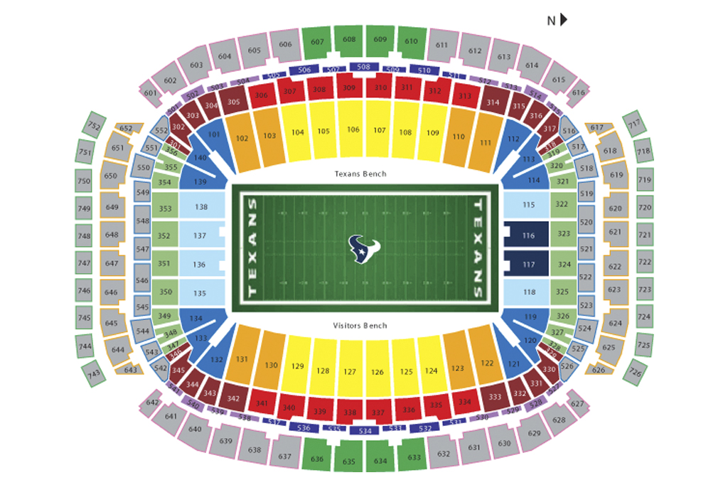 Nrg seating chart elite events tickets